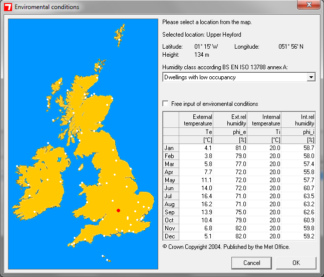 BuildDesk U - Climate Data